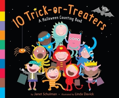 10 Trick-Or-Treaters: A Halloween Counting Book - Schulman, Janet