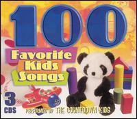 100 Favorite Kids Songs [2003] - The Countdown Kids
