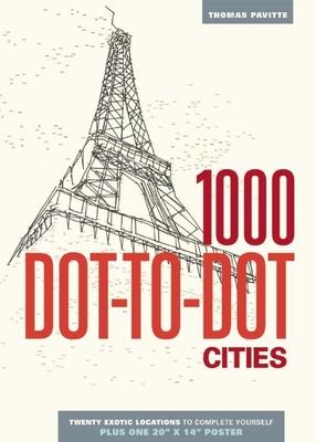 1000 Dot-To-Dot: Cities - Pavitte, Thomas