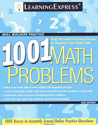 1001 Math Problems - Learning Express LLC (Creator)