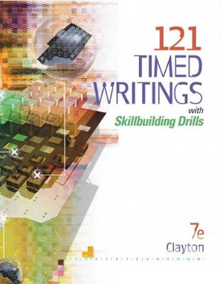 121 Timed Writings with Skillbuilding Drills with Micropace Pro Individual - Clayton, Dean