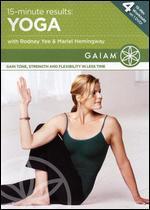 15-Minute Results: Yoga with Rodney Yee & Mariel Hemingway