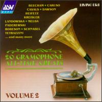 20 Gramophone All-Time Greats, Vol. 2 - Carl Lamson (piano); Fritz Kreisler (violin); G. Pavlenko (vocals); Isidor Achron (piano); Jascha Heifetz (violin);...