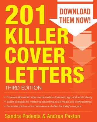 201 Killer Cover Letters - Podesta, Sandra, and Paxton, Andrea