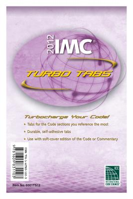 2012 International Mechanical Code Turbo Tabs for Paper Bound Edition - International Code Council