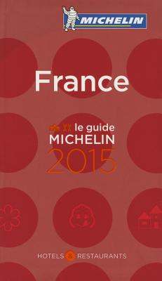 2015 Red Guide France - Michelin