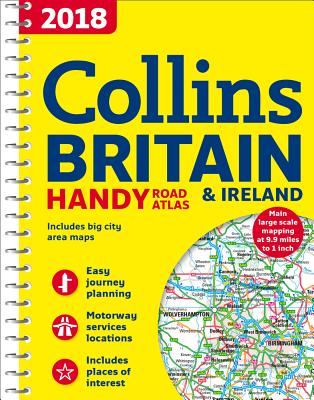 2018 Collins Handy Road Atlas Britain - Collins Maps