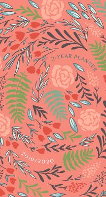 2019/2020 2 Year Pocket Planner: Coral Floral: 89 x 165mm, Month-At-A-Glance Spreads for 2019/2020 Calendar Years, Encouraging Scriptures, Space for Things-To-Do Lists and Notes, Durable Interior Paper, Beautifully Designed Cover with Matte Lamination... - Belle City Gifts