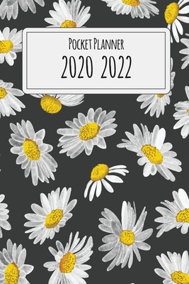 2020-2022 Pocket Planner: Vintage Daisy, Three Year Calendar, 36-Month Pocket Monthly Agenda Planner with Holiday - Stallworth, Joni