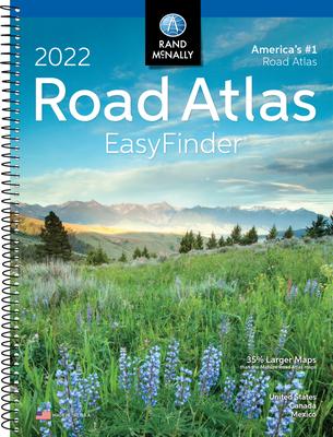 2022 Easyfinder Midsize Road Atlas - Rand McNally