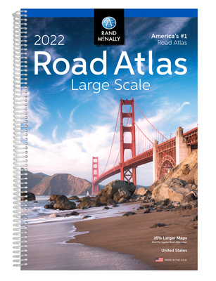 2022 Large Scale Road Atlas - Rand McNally