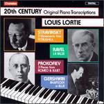 20th Century Original Piano Transcriptions