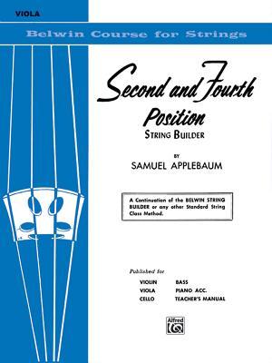 2nd and 4th Position String Builder: Viola - Applebaum, Samuel