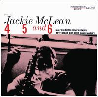 4, 5 and 6 [RVG Remaster] - Jackie McLean