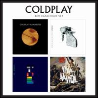 4 CD Catalogue Set: Parachutes/A Rush of Blood to the Head/X&Y/Viva La Vida - Coldplay