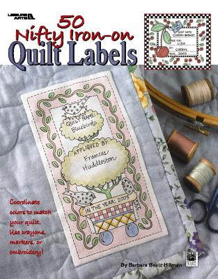 50 Nifty Iron-On Quilt Labels (Leisure Arts #3466) - Kooler Design Studio