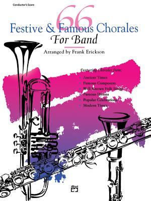 66 Festive & Famous Chorales for Band: Flute - Erickson, Frank