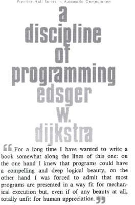 A Discipline of Programming - Dijkstra, E