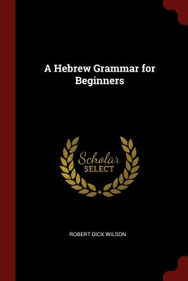 A Hebrew Grammar for Beginners - Wilson, Robert Dick