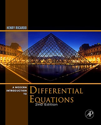 A Modern Introduction to Differential Equations - Ricardo, Henry J