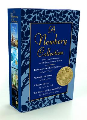 A Newbery Collection Boxed Set: Number the Stars/A Single Shard/Island of the Blue Dolphins/The Witch of Blackbird Pond - Lowry, Lois, and Park, Linda Sue, Mrs., and O'Dell, Scott