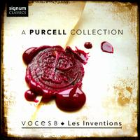 A Purcell Collection - Andrea Haines (soprano); Barnaby Smith (counter tenor); Dingle Yabdell (bass); Emily Dickens (soprano); Les Inventions;...