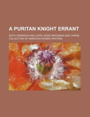A Puritan Knight Errant - Robinson, Edith