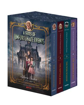 A Series of Unfortunate Events #1-4 Netflix Tie-In Box Set - Snicket, Lemony