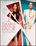 A Simple Favor [Includes Digital Copy] [Blu-ray/DVD] - Paul Feig