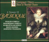 A Treasury of Baroque - Alberto Tozzi (violin); Capella Istropolitana; Christiane Jaccottet (harpsichord); Dubravka Tomsic (piano);...