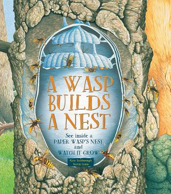 A Wasp Builds a Nest: See Inside a Paper Wasp's Nest and Watch It Grow - Scarborough, Kate, and Camm, Martin