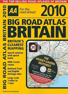 AA Big Road Atlas Britain - AA Publishing (Creator)