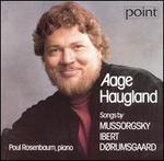 Aage Haugland sings Songs by Mussorgsky, Ibert, Dørumsgaard