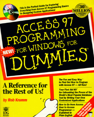 Access 97 Programming for Windows for Dummies - Krumm, Rob