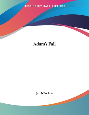 Adam's Fall - Boehme, Jacob