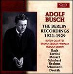 Adolf Busch, The Berlin Recordings 1921-1929