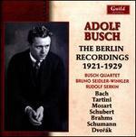 Adolf Busch, The Berlin Recordings 1921-1929