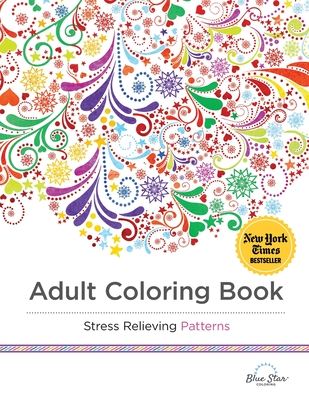 Adult Coloring Book Stress Relieving Patterns -