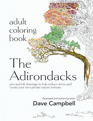 Adult Coloring Book: The Adirondacks - Bizzoco, Cecilia (Editor)