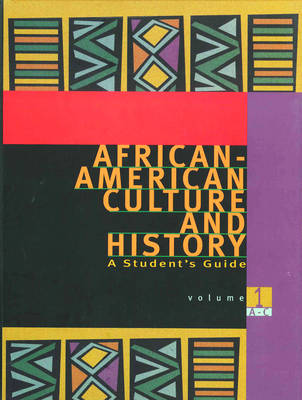 African-American Culture and History: A Student's Guide - Salzman, Jack (Editor)