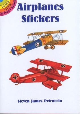 Airplanes Stickers - Petruccio, James Steven, and Petruccio, Steven James, and Petruccio, Sj