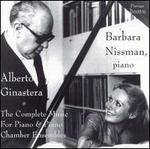 Alberto Ginastera: Complete Music for Piano & Piano Chamber Ensembles