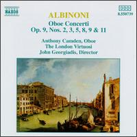 Albinoni: Oboe Concerti, Op. 9 - Anthony Camden (oboe); Julia Girdwood (oboe); London Virtuosi