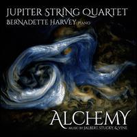 Alchemy - Bernadette Harvey (piano); Jupiter String Quartet