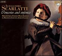 Alessandro Scarlatti: Concertos and sinfonias - Federico Maria Sardelli (recorder); Federico Maria Sardelli (flute); La Magnifica Comunit�; Modo Antiquo;...