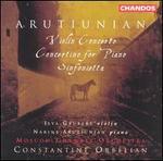 Alexander Aruthiunian: Violin Concerto; Concertino for Piano; Sinfonietta