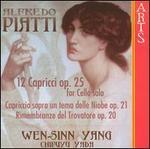 Alfredo Piatti: 12 Capricci, Op. 25