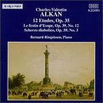 Alkan: 12 Etudes, Op. 35 - Bernard Ringeissen (piano)