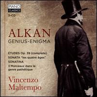 Alkan: Genius-Enigma - Vincenzo Maltempo (piano)