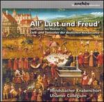 All' Lust und Freud'